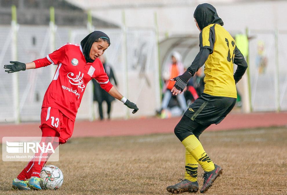 آمار سمیه خرمی ؛ ۲۷ گل در ۱۸ بازی در لیگ برتر فوتبال (عکس)