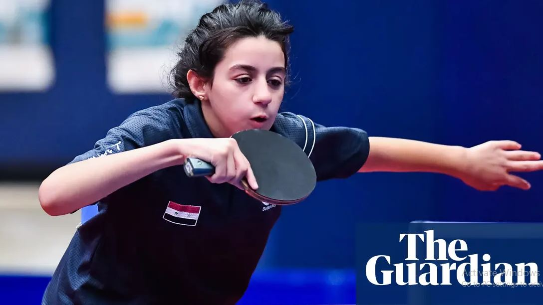بغض دمشق | دختر 11 ساله سوری در المپیک