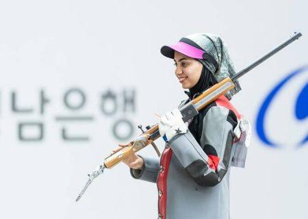 فاطمه کرم زاده؛ المپیک اولی تیراندازی از بوشهر میآید