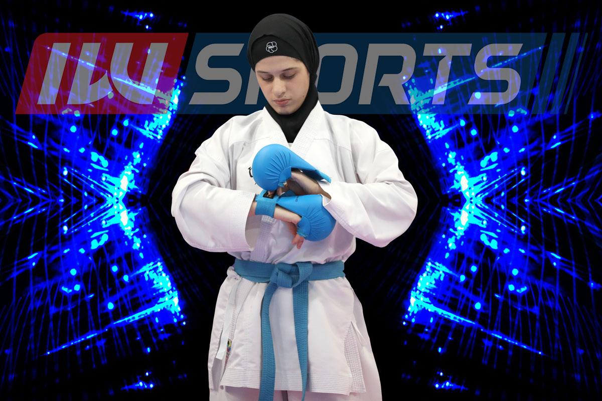 وزن 68- کیلوگرم | لیلا برجعلی؛ 8 بازی و 8 پیروزی برای کاراته کای قزوینی
