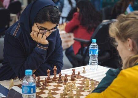 پایان شطرنج جوانان آسیا با رتبه هشتم مبینا علی نسب