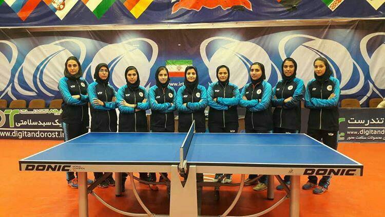 شهرداری شهر بابک قهرمان لیگ تنیس روی میز شد
