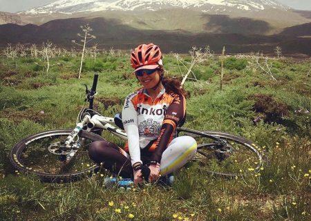 بانوی دوچرخه سوار در سانحه تصادف در تهران جان باخت