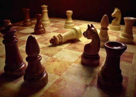 تولید ماسک در یک آکادمی شطرنج در آبادان
