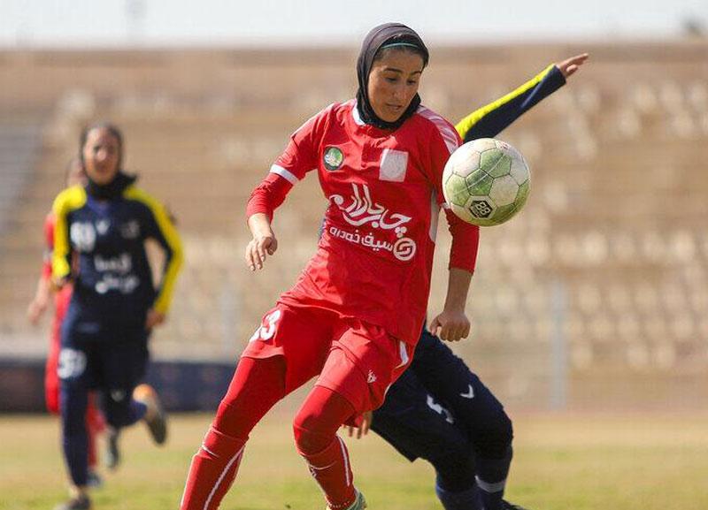 سمیه خرمی فوتبال زنان وچان کردستان