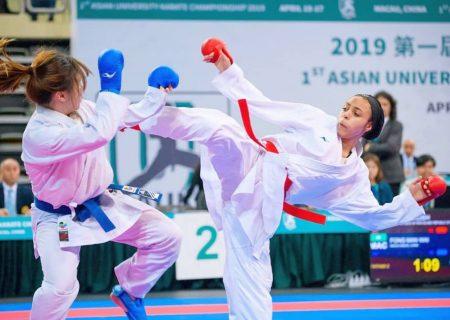 وزن 61- کیلوگرم | هفت پیروزی پیاپی فائزه چیذری را در صدر قرار داد