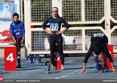 تصاویر مسابقات دوومیدانی جایزه بزرگ بانوان در تهران
