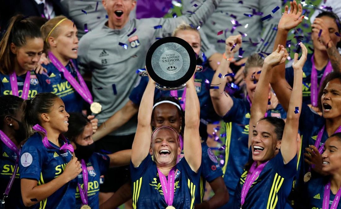 المپیک لیون قهرمان لیگ قهرمانان زنان اروپا شد