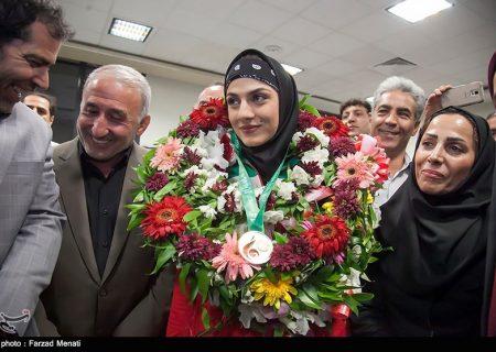 مریم هاشمی ۴ سال از حضور در میادین ورزشی محروم شد