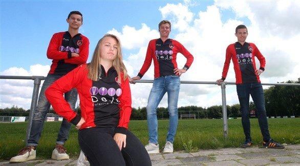 هلند مجوز حضور یک زن در تیم مردان را صادر کرد