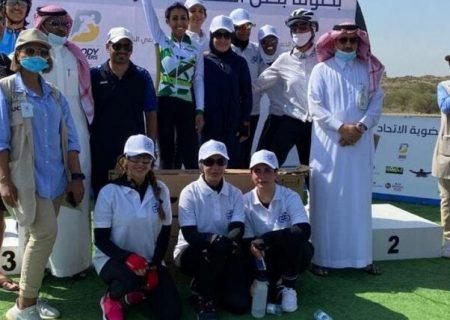 مسابقات دوچرخه سواری زنان برای اولین بار در عربستان برگزار شد