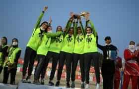 ب آ با اقتدار قهرمان والیبال ماسهای تهران شد