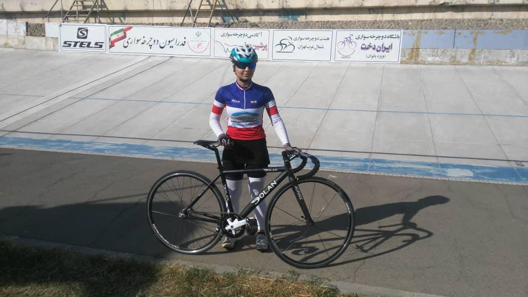 لیلا حیدری: در تمرینات رکورد 38.50 را زده بودم