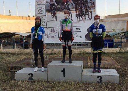 هرمزگان قهرمان مرحله اول لیگ دوچرخه سواری پیست شد