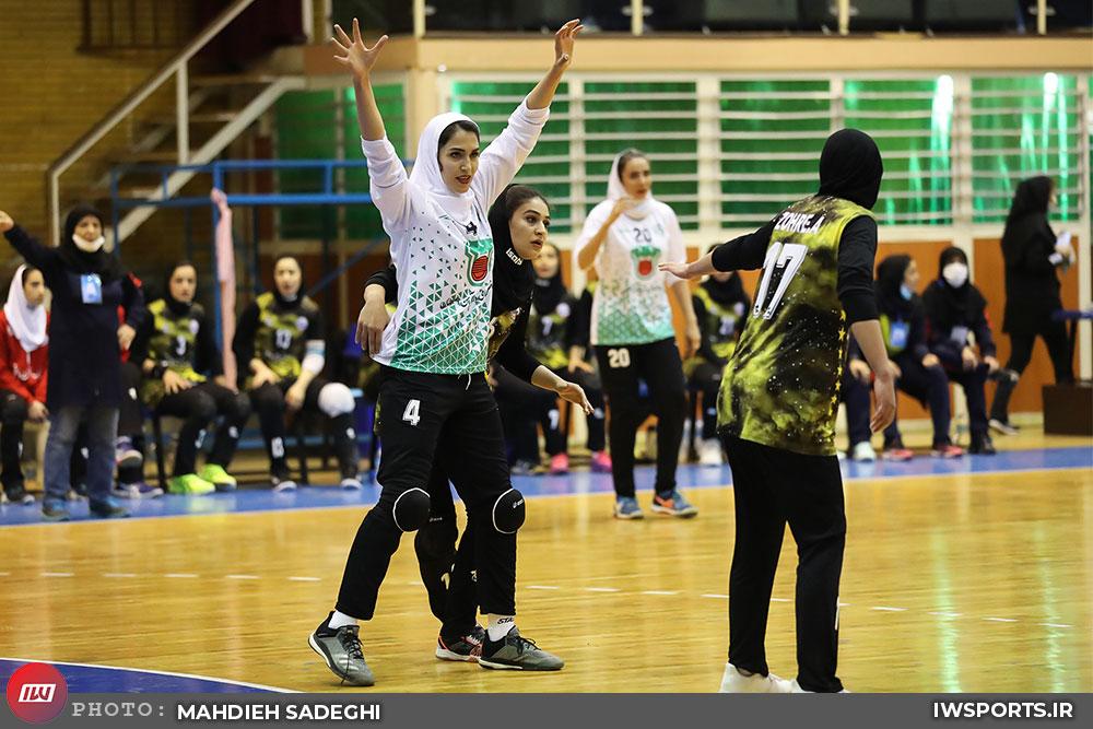 قهرمانی اسرا زندی به همراه اربیل در مسابقات هندبال عراق