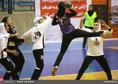 آغاز دور برگشت لیگ برتر هندبال بانوان از ۹ آذر در مشهد