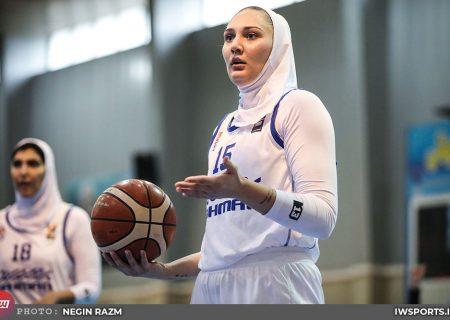 پیروزی گروه بهمن مقابل شهرداری قزوین با درخشش آنا بهشتیان