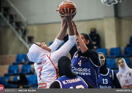 پیروزی قاطع گروه بهمن در لیگ برتر بسکتبال بانوان