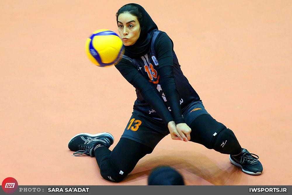 لیگ-برتر-والیبال-بانوان-نگار-کیانی-سایپای-تهران