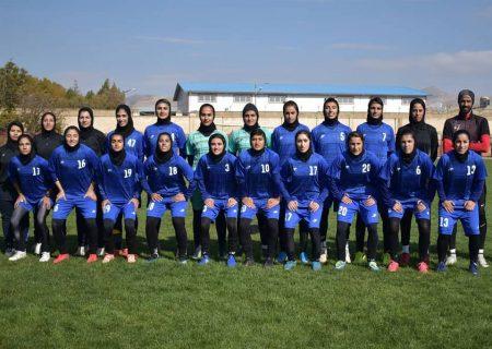 پیروزی امیدبخش وچان کردستان با گلزنی زهرا قنبری