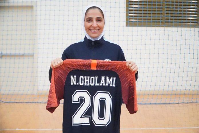 نسیمه غلامی در کویت | کاپیتان تیم ملی فوتسال لژیونر شد