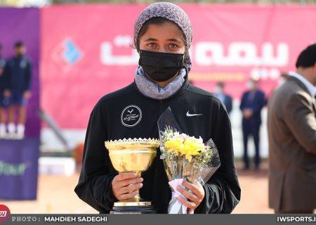 قهرمانی ماندگار فرزامی با پیروزی برابر تنیسور روس
