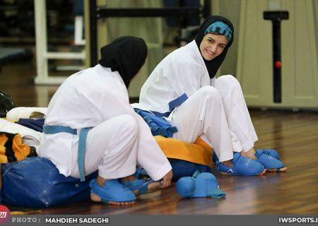 کاراته وان استانبول | مدال برنز از دستان شیما آل سعدی سُر خورد