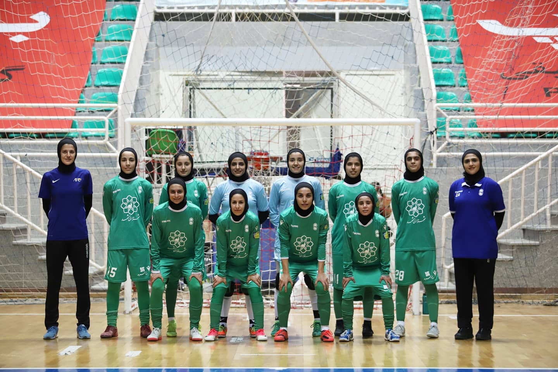 گلهای دیدار هیئت خراسان رضوی و حفاری خوزستان در لیگ فوتسال زنان