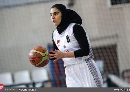 پیروزی پاز برابر سینام مشهد با دبل دبل فائزه اسلامی
