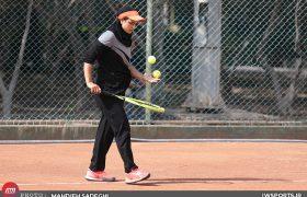 مهتا خانلو قهرمان تنیس جایزه بزرگ هرمزگان شد