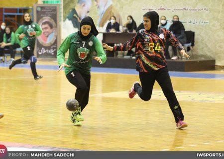 پیروزی ذوب آهن برابر پرسپولیس بهبهان در لیگ هندبال زنان