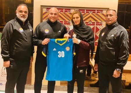 اعظم آخوندی به تیم فوتسال زنان الزورا عراق پیوست