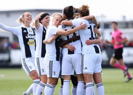قهرمانی قاطع یوونتوس در نیم فصل لیگ فوتبال زنان ایتالیا