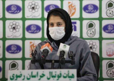 فاطمه شریف: لیگ برای ما تازه از دیدار مقابل مس آغاز خواهد شد