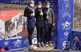 قهرمانی غزل صفا و هلن زارعی در مسابقات دواتلون قهرمانی کشور