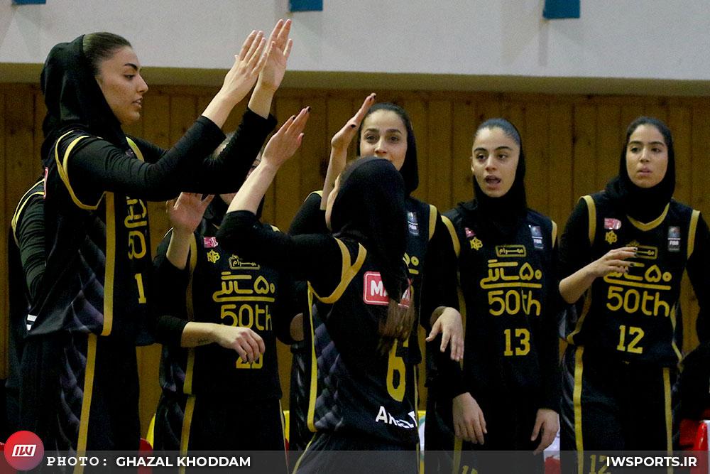 مهرام ۷۴ گروه بهمن ۶۳ | مهرام در یک قدمی قهرمانی لیگ بسکتبال