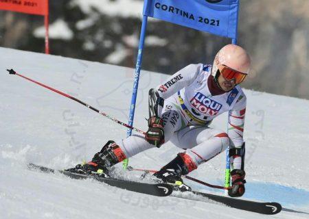 اسکی آلپاین قهرمانی جهان | عاطفه احمدی با راهیابی به مانش دوم شگفتی ساز شد