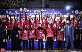 تصاویر قهرمانی اشتاد سازه مشهد در لیگ برتر هندبال بانوان