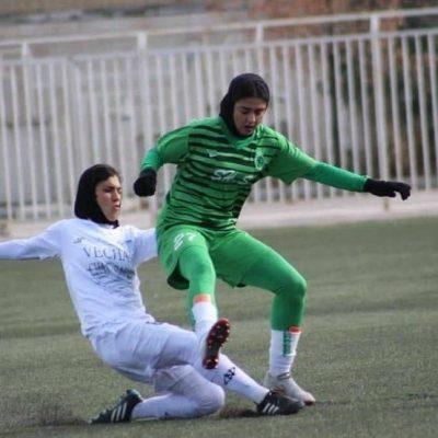 گل های دیدار سپاهان 2 شهرداری سیرجان 6 در لیگ فوتبال زنان