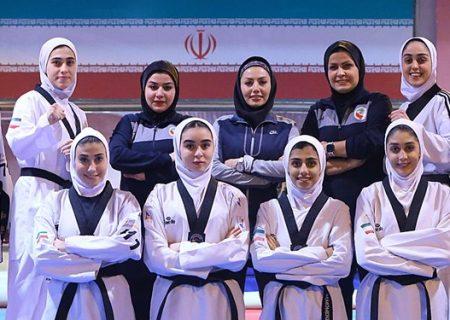 اعزام تیم ملی تکواندو بانوان به استانبول