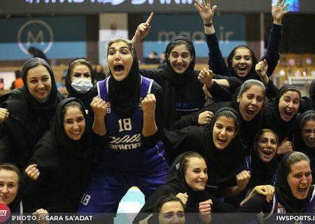 گروه بهمن قهرمان لیگ برتر بسکتبال بانوان شد