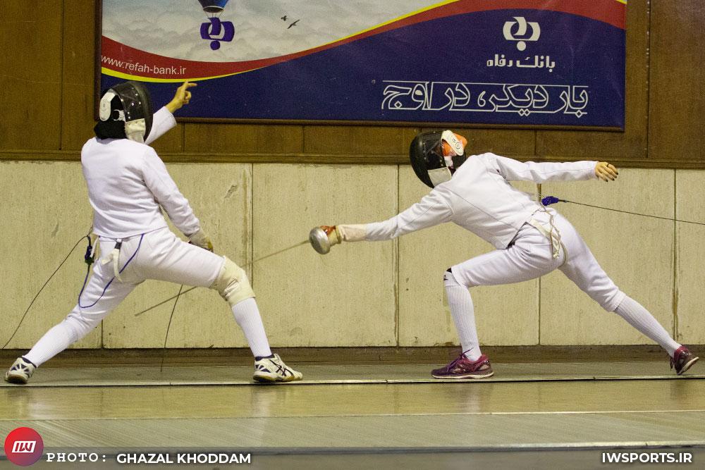 ماهرخ، کافی و سازنجیان نمایندگان ایران در شمشیربازی انتخابی المپیک