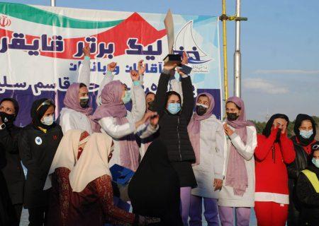 آرتمیس قهرمان لیگ برتر قایقرانی رویینگ زنان شد