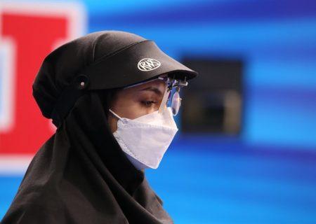 مدال برنز گلنوش سبقت اللهی در تپانچه میکس جام جهانی تیراندازی