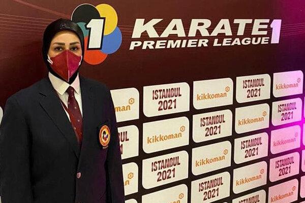 المیرا گوزل زاده عضو هیات ژوری لیگ جهانی کاراته شد