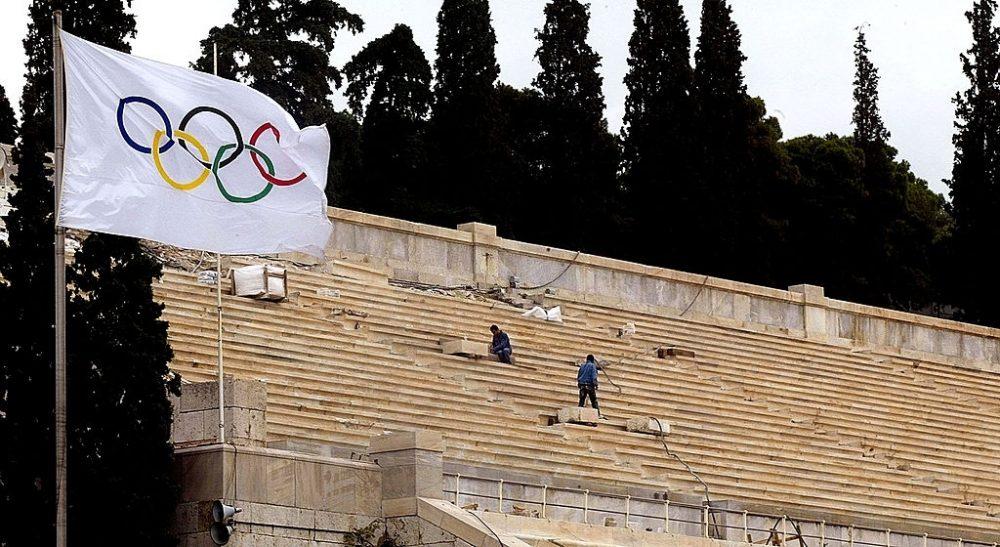 المپیک آتن ؛ عکس از Gettyimages