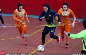 تصاویر دیدار سایپا و نامی نو اصفهان در لیگ برتر فوتسال زنان