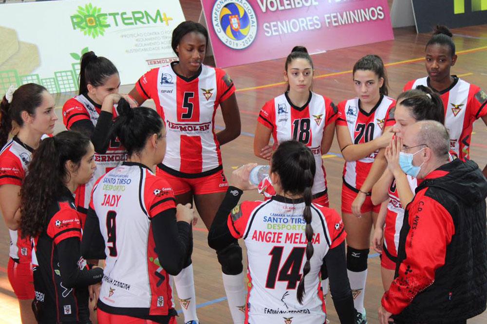 والیبال زنان آوش پرتغال Aves Portugal Volleyball women;s team