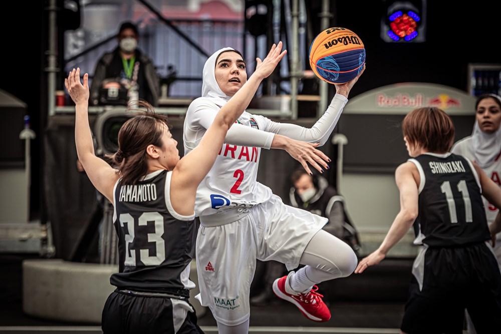 شکست تلخ دختران بسکتبال سه نفره برابر ژاپن و تایلند