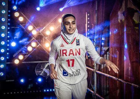 تصاویر دیدار بسکتبال زنان ایران برابر تایلند و ژاپن